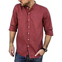 super popolare 4ba67 a72c8 Amazon.it: Camicia da uomo rossa