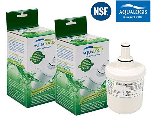 2 x AL-093F Filtres remplacer Samsung Aqua-Pure Plus DA29-00003F Filtre Frigo