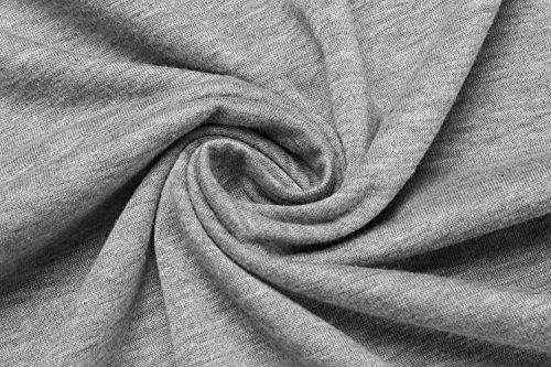 ZEARO Herren Freizeit kurzes Hülsen-Polo-Kragen-gestreiftes dünnes Pullover-Polo-Hemd Dunkel Grau