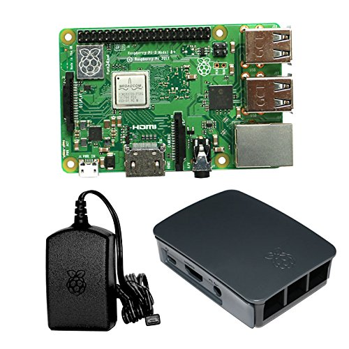 Raspberry Pi 3 Model B+ Bundle S (schwarz) (Bundle Model B Raspberry Pi)