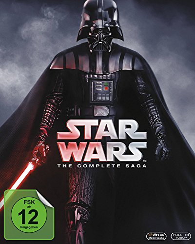 Star Wars: The Complete Saga [9 Blu-rays] (Star Wars Blu-ray Set)