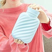 Lingqiqi Gummi-Thermoskanne Wasserkocher mit Deckel große Kapazität Wasser Handwärmer Handwärmer (Farbe : Blau... preisvergleich bei billige-tabletten.eu