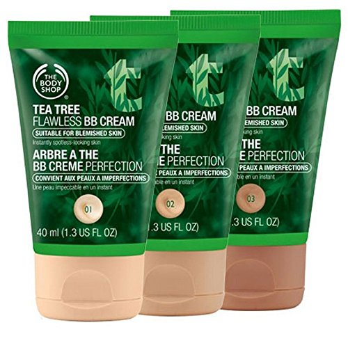 The Body Shop-Tea Tree Lupenrein BB Cream 40 ml, Farbton 02 Medium.