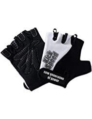 Best Body Nutrition Endurace Cycle Gloves - Guantes para fitness, color negro / azul, talla XL