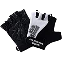Best Body Nutrition Endurace Cycle Gloves - Guantes para fitness, color negro/azul, talla XL