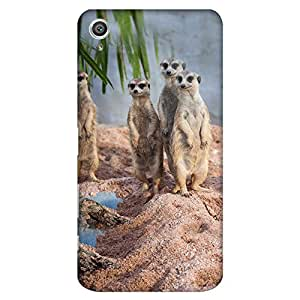 Bhishoom Designer Printed Back Case Cover for Sony Xperia Z5, Sony Xperia Z5 Dual 23MP (Cool Cute Mongoose Photo For Girls)