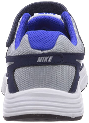 Nike Revolution 2 PSV, Running Entrainement Garçon Gris (Wolf Grey/White-Lyon Blue-Black)