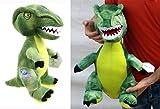 Brigamo 24018 - Jurassic World© grüner Velociraptor Plüsch DINOSAURIER IN XL GRÖßE!