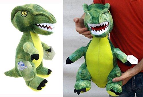 Brigamo 24018 - Jurassic World© grüner Velociraptor Plüsch DINOSAURIER IN XL GRÖßE! thumbnail