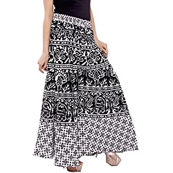 PMS Pure Cotton Woman's Palazzo (Assorted Design in Black and White ))