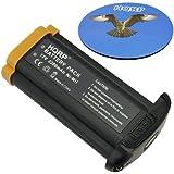 HQRP Batterie 2200mAh pour Canon NP-E3; EOS 1D, EOS 1D Mark II, EOS 1D Mark II N, EOS 1Ds, EOS 1Ds Mark II Appareil photo numérique SLR 7084A001, 7084A002