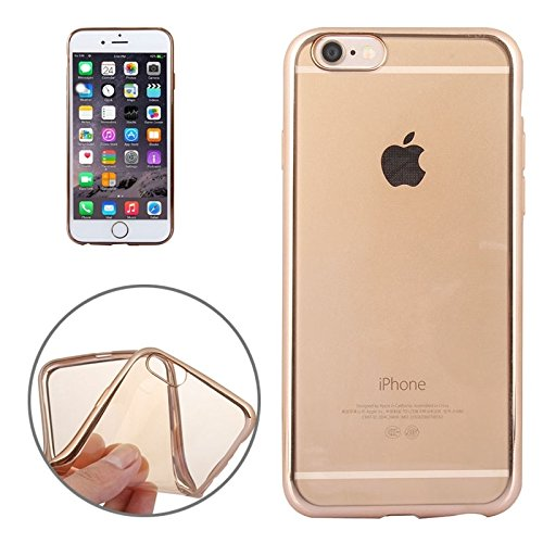GHC Cases & Covers, Galvanisieren TPU Fall für iPhone 6 Plus & 6s Plus ( Color : Pink ) Gold