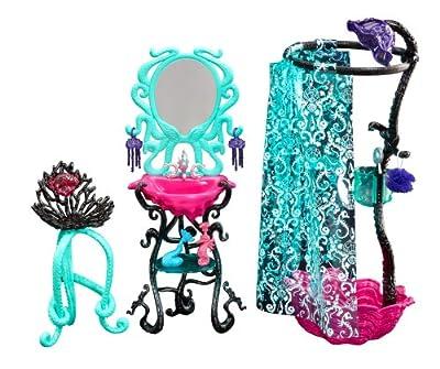 Monster High - Muñeca Lagoona, set de ducha (Mattel BMK48) por Mattel