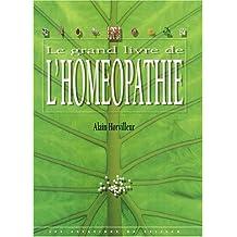 LE GRAND LIVRE DE L'HOMEOPATHIE