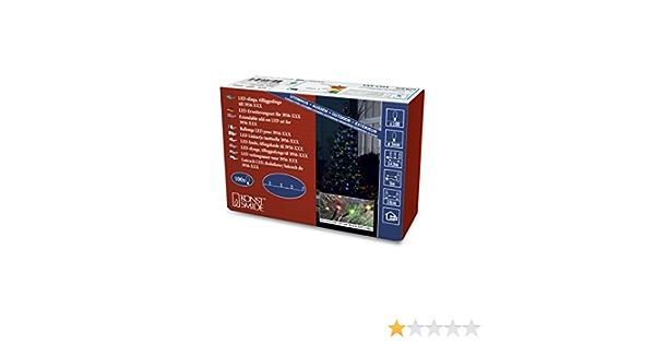 IP44 /207//Micro LED Sistema espansione: Luce Catena//per esterno //100/diodi//Nero Soft cavo Konstsmide 3957/