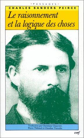 Le Raisonnement et la Logique des choses - Les Confrences de Cambridge (1898)