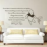 mairgwall Christopher Robin Zitat I 'll Always Be mit Sie Classic Pooh Lovely Aufkleber, Kinder Room Art Aufkleber, Vinyl, Custom, 22