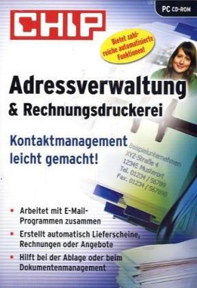 Adressverwaltung & Rechnungsdruckerei, CD-ROM Kontaktmanagement leicht gemacht. Für Windows 98/ME/2000/XP
