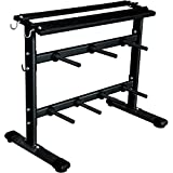 Marcy Standard Weight Plate & Dumbbell Storage Rack
