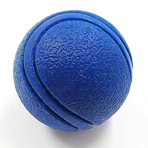 yusenpet Robust Gummi Bouncy Tennis Ball, schwimmfähig Abrufen Kauen Spielzeug unverwüstlich für Hunde Wasser schwimmen Pool Spielen, Tennis Größe, 6,6cm