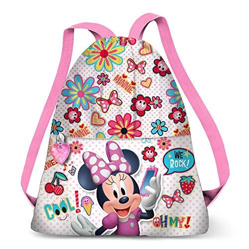 Karactermania Minnie Mouse Oh My! - Mochila de Cuerdas, 41 cm