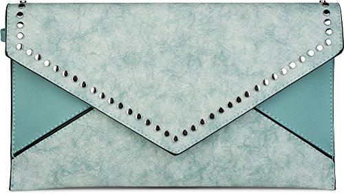 styleBREAKER, Borsa a tracolla donna turchese turchese taglia unica turchese