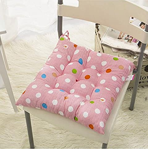 New day-Plush cushion Crystal velvet warm cushion student cushion seat
