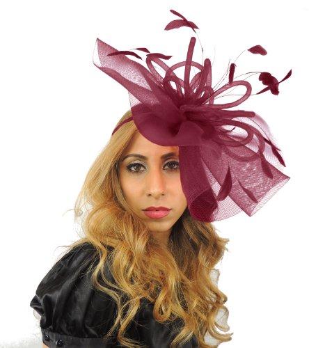 Hats By Cressida - Sweat à capuche spécial grossesse - Femme Rouge - Bordeaux