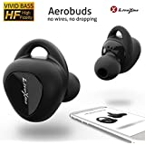 Wireless Earbuds LiteXim Aerobuds, True Wireless Earbuds Bluetooth Earbuds With Mic Noise Cancelling Headphones Charging Case Deep Bass HD 3D Stereo Surround Waterproof Sports Earphones 16H Playtime