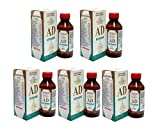 #8: A&D Vitamin Massage Oil for Baby - Natural Baby Massage Oil for A Shiny Skin & Hair - AD Oil for Baby Massage (Buy 4 Get 1 Free)