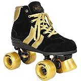 Rookie Rollerskates Authentic V2 RKE-SKA-2161 (Black Gold) Gr. 38