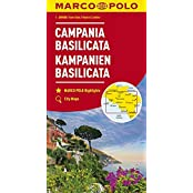 MARCO POLO Karten 1:200.000: MARCO POLO Karte Italien Blatt 12 Kampanien, Basilicata 1:200 000