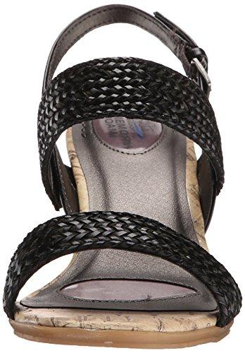 Life Stride Persona Femmes Synthétique Sandales Compensés Black