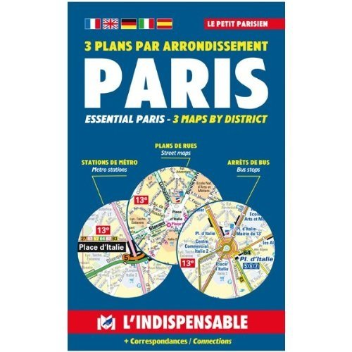 Plans de Paris: Paris street index and maps: Paris pratique par arrondissement