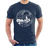 Cloud City 7 The Great Outdoors I Hate People Mens T-Shirt