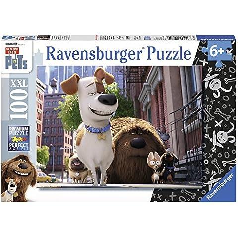 Ravensburger Italy 108749 - Puzzle Pets, 100 Pezzi, Multicolore