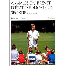Annales du brevet d'état d'éducateur sportif, 3e édition