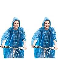 Poncho pluie avec capuche Poncho d'urgence Festival Set économie d'Pack