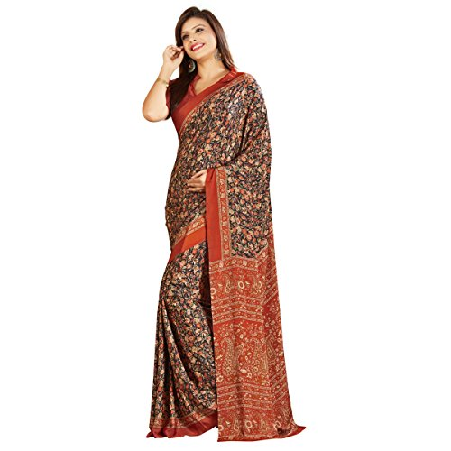 Triveni Crape & Silk Saree (TSAMS701A_Multi)