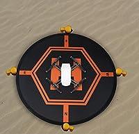 "Drones Landing Pad,31.5""/80cm Double Side Day & Night Folding Landing Pad for DJI Mavic Pro DJI Spark DJI Mavic Air Inspire 2 1 Phantom 4 3 Quadcopter Drone Apron"