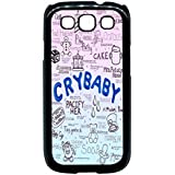 Cry Baby Song Art - Melanie Martinez Case / Color Black Rubber / Device Samsung Galaxy S3