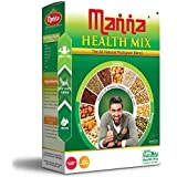 Manna Health Mix, 100% Natural Breakfast Porridge without Preservatives & Added Sugars, 1Kg Pack