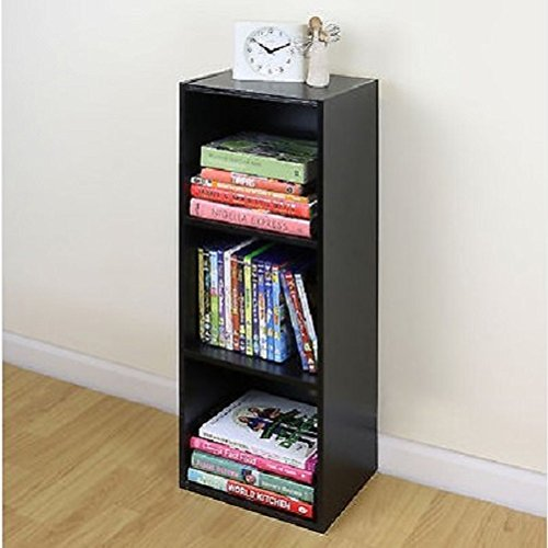 Merveilleux 3 Tier Wooden Black Cube Bookcase Storage Display Unit Modular Shelving/ Shelves / Home Sofa Table Bookcase Bed Chair Couch Dining Room Sets  Sectional Living ...