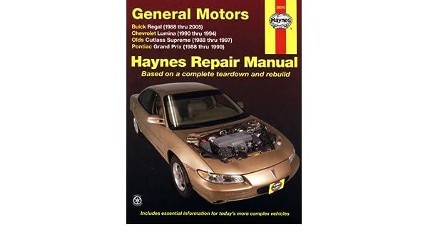 haynes repair manual buick regal 99 free owners manual u2022 rh wordworksbysea com 1996 Buick Regal 1996 Buick Regal