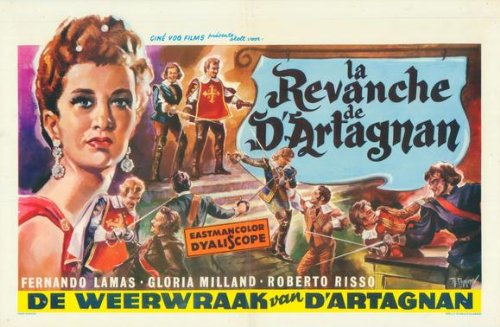 Revenge of the Musketeers Plakat Movie Poster (27 x 40 Inches - 69cm x 102cm) (1963) Belgian