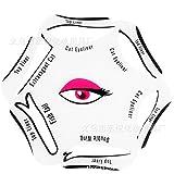 Zantec SaiDeng Make up Beauty Katze Eyeliner Smokey Eye Schablone Modelle Vorlage Former Werkzeug Neu