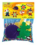 Hama 4411 - Packung für Spielgruppen, ca. 3000 Bügelperlen, 4 Stiftplatten und Zubehör, bunt