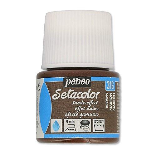 peinture-setacolor-opaque-effet-daim-marron-n316-x45ml
