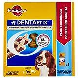 Pedigree Denta Stix Hunde-Zahn-Snack mittelgroße Hunde (10-25kg), Zahnpflege-Snack mit Huhn und Rind, 1 Packung je 56 Stück (1 x 1.44 kg) - 3