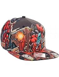 Marvel Deadpool Sublimated Snapback Baseball Cap
